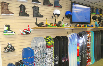 Snowboards are just one type of the many boardsports you'll find at MACkite