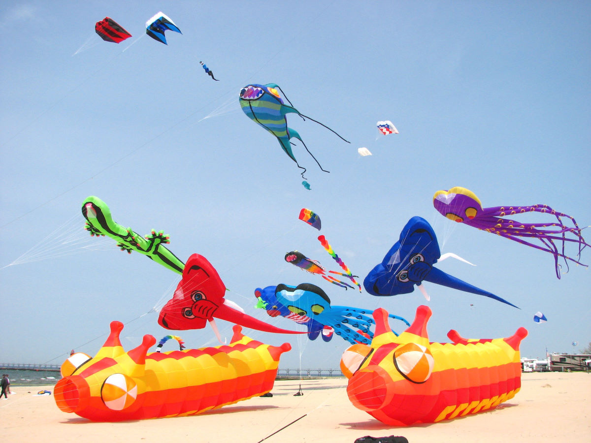 Great Lakes Kite Festival